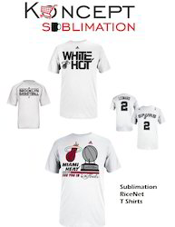 Sublimation Rice Net T Shirts