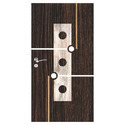 Wood Exterior Italic Door For Home, Thickness: 32 Mm