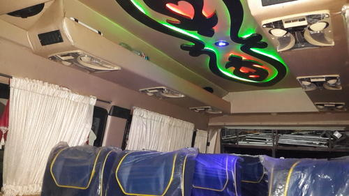 Tempo Traveller Interior Design