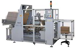 Case Packer with Carton Erector Machine