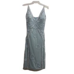 Ladies Embroidered Party Wear Dress