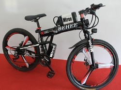 Folding E - Bicycle
