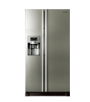 Samsung 585 Side By Side Refrigerator Gray