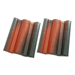 Cement / Concrete Water Proof, Durable Coating Rustic Red Roof Tiles