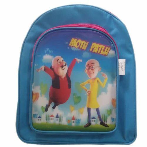Motu Patlu Kids School Bag