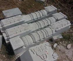 Stone Temple Pillar