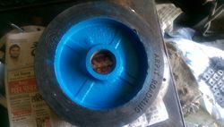 Rubber Bonded CI Wheel 10 x 2