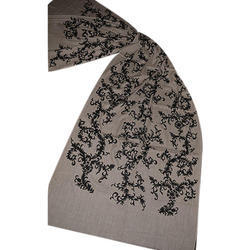 Single Colour Embroidery Scarves