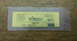 Official Shape Transparent And Opaque Plastic Envelope