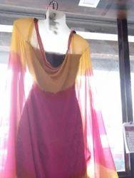 Punjabi Maroon Dress