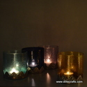 Glass Color Votive Holder