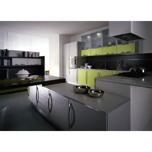 Designer Modular Kitchen At Rs 360 Square Feet