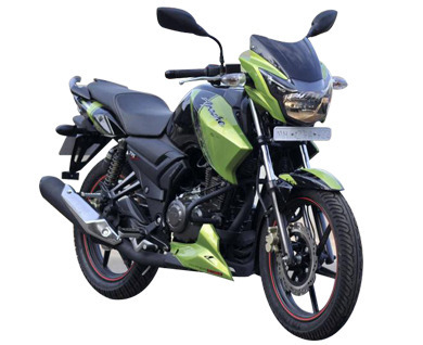 Second Hand Tvs Apache 2011 Model Old Motorbike Old Motorcycle
