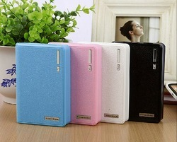 Power Bank Bank Leather Diary