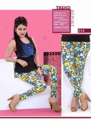 Seamless Printed Leggings