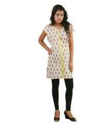 Posh 7 Red And Green Ladies Kurtis