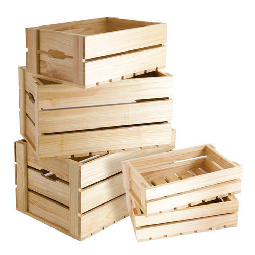 Wooden Fruit Box at Rs 150/box Fruit Packaging Boxes ID ...