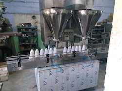 Double Head Augur Type Power Filling Machine
