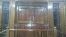 Teek Wood Table Door