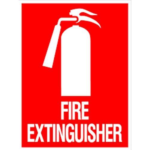 Industrial Retro Signage Fire Extinguisher Signage