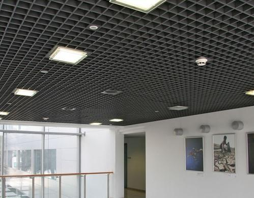 Aluminum Open Cell Ceiling System Rs 175 Square Feet