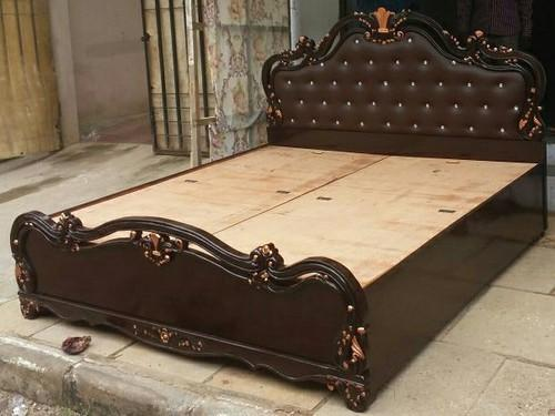 . Wooden Carving Bed