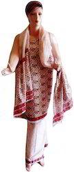 Block Printed Salwar Suit Material