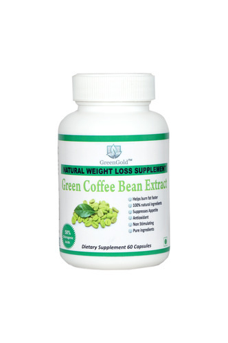 Greengold Green Coffee Bean Extract Capsule Herbal Capsules