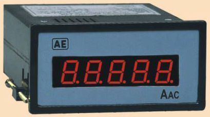 Digital Amp Meter Panel : Programmable digital panel ammeter automatic electric ltd. mumbai