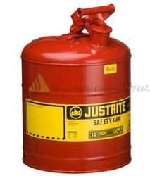 STEEL Justrite Safety Cans - Type I can