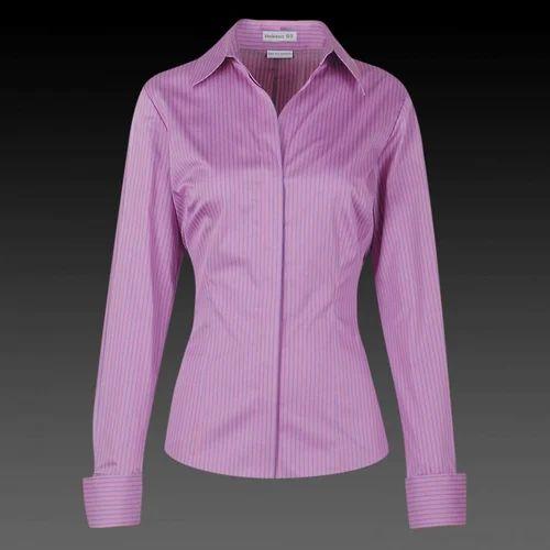 e85c73716ae Ladies Office Shirt at Rs 300 /piece   Women Shirts - S B Designs ...
