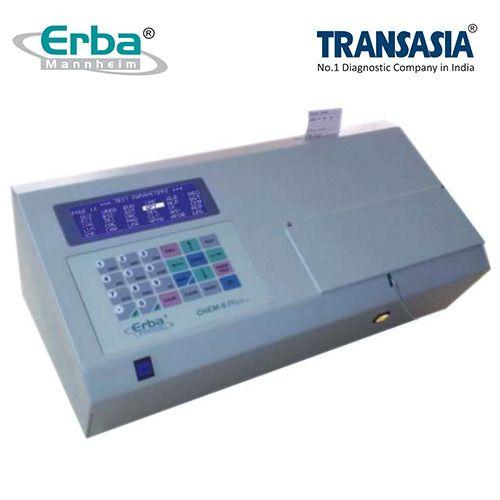 erba chem 5 plus v2 biochemistry analyzer transasia bio medicals rh indiamart com