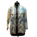 Merino Wool Women's Embroidery Jacket