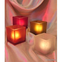 Frosted Candle Votive Holder