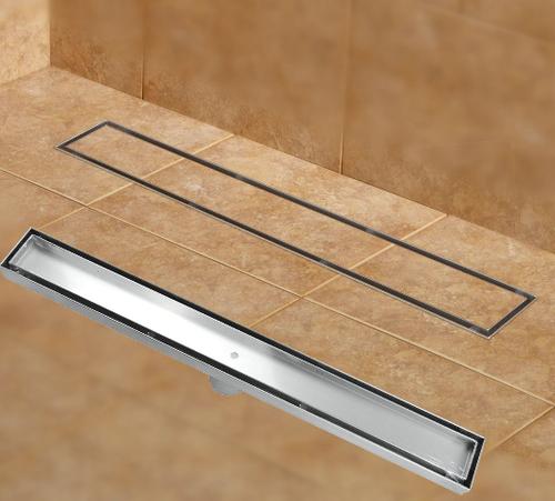 Techno Ss Linear Shower Drain Tile Insert
