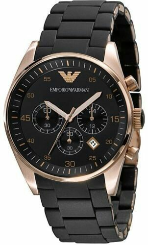 Emporio Armani AR5905 Executive Black Chronograph Watch at Rs 2100 ... 2cd0b9906