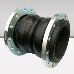 Double Arch Rubber Expansion Joint with Control Unit
