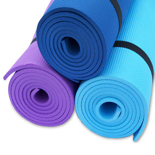 EVA Red And Blue Yoga Mat Size 2472 Inch