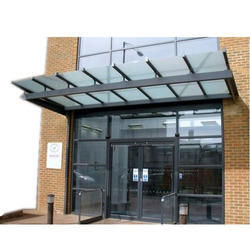 Office Glass Canopy