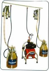 Fixed Model Milking Machine - Single Bucket