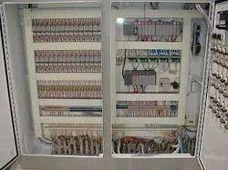 Moter Control Center Panel
