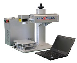 Maxsell (IPG German Source) Laser Marking Machine - High Performance and Sharp Beam Quality
