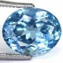 5.78 Carats Sky Blue Topaz