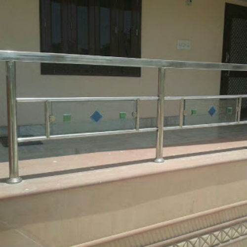 Front Railing Design Steel 3