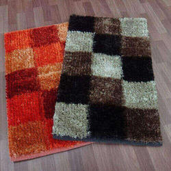 Rectangular 150 X 240 cm Polyester Shaggy Carpet for Home