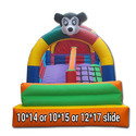 Slide Inflatable Bouncy Castle