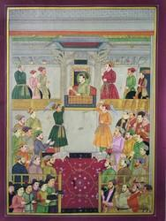 Akbar Court Painting