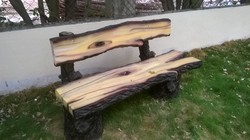FRP Wooden Design Bench