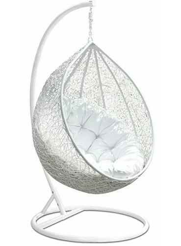 White Nest Swing Chair With Stand Size Standard Rs 7950 Unit Id 20179099591