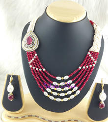 One Side Pendent Mala Sets